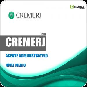 Apostila Concurso Público CREMERJ 2019 Agente Administrativo