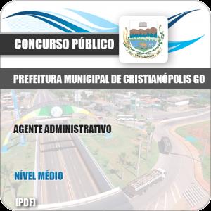 Apostila Pref Cristianópolis GO 2019 Agente Administrativo