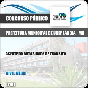 Apostila Pref Uberlândia MG 2019 Agente Autoridade de Trânsito