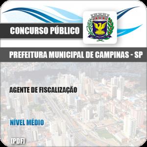 Apostila Concurso Pref Campinas SP 2019 Agente de Fiscalização