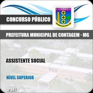 Apostila Concurso Pref Contagem MG 2019 Assistente Social