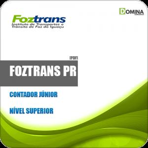 Apostila Concurso FOZTRANS PR 2019 Contador Júnior