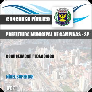 Apostila Concurso Pref Campinas SP 2019 Coordenador Pedagógico