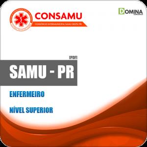 Apostila Concurso Público CIRUSPAR SAMU PR 2019 Enfermeiro
