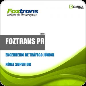 Apostila FOZTRANS PR 2019 Engenheiro de Tráfego Júnior