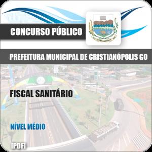 Apostila Concurso Pref Cristianópolis GO 2019 Fiscal Sanitário