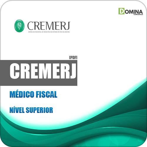 Apostila Concurso Público CREMERJ 2019 Médico Fiscal