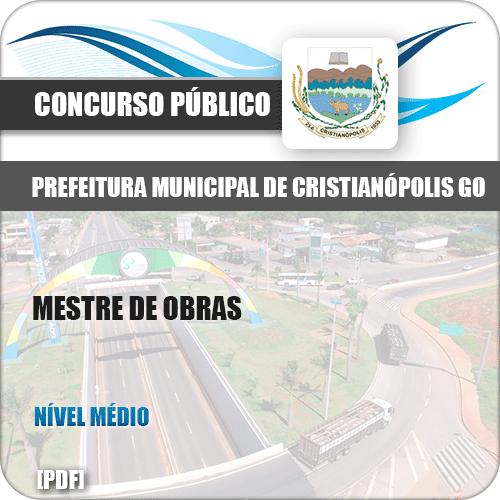 Apostila Concurso Pref Cristianópolis GO 2019 Mestre de Obras
