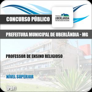 Apostila Pref Uberlândia MG 2019 Professor de Ensino Religioso