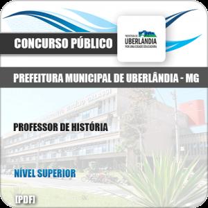 Apostila Concurso Pref Uberlândia MG 2019 Professor de História