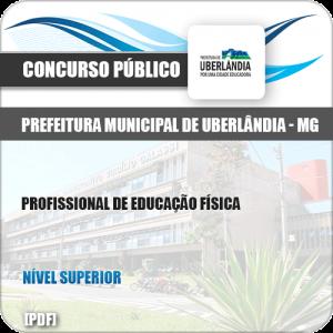 Apostila Pref Uberlândia MG 2019 Profissional de Educação Física