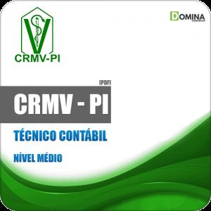 Apostila Concurso Público CRMV PI 2019 Técnico Contábil