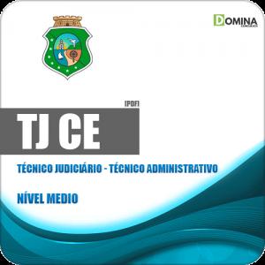 Apostila TJ CE 2019 Técnico Judiciário Técnico Administrativo