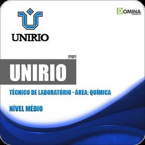 Apostila Concurso UniRio 2019 Técnico de Laboratório Química