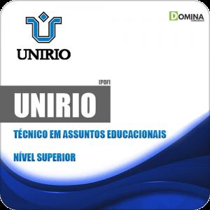 Apostila Concurso UniRio 2019 Técnico em Assuntos Educacionais