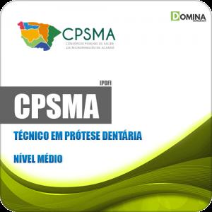 Apostila Concurso CPSMA CE 2019 Técnico em Prótese Dentária