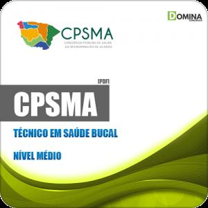 Apostila Concurso Público CPSMA CE 2019 Técnico em Saúde Bucal