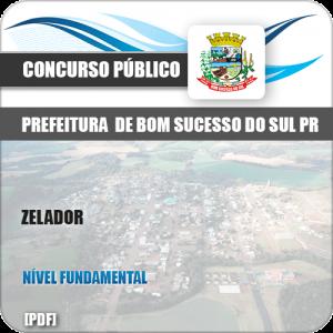 Apostila Concurso Pref Bom Sucesso do Sul PR 2019 Zelador