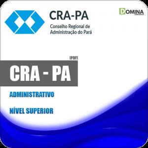 Apostila Processo Seletivo CRA PA 2019 Administrativo