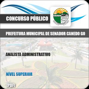 Apostila Pref Senador Canedo GO 2019 Analista Administrativo