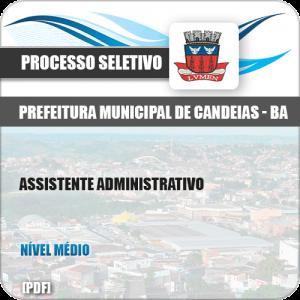 Apostila Pref de Candeias BA 2019 Assistente Administrativo
