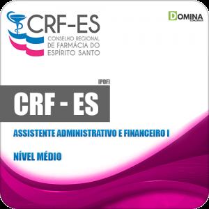 Apostila CRF ES 2019 Assistente Administrativo e Financeiro I