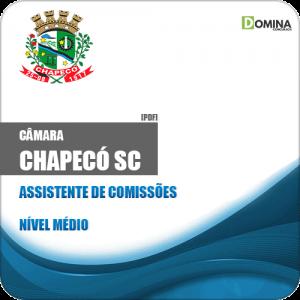 Apostila Câmara de Chapecó SC 2019 Assistente de Comissões