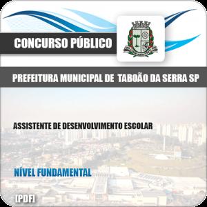 Apostila Pref Taboão Serra SP 2019 Ass Desenvolvimento Escolar