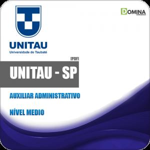 Apostila Concurso UNITAU SP 2019 Auxiliar Administrativo