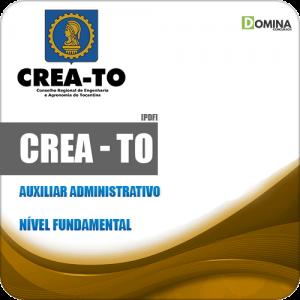Apostila Concurso CREA TO 2019 Auxiliar Administrativo