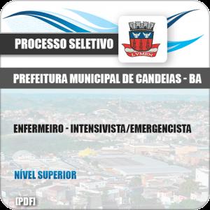 Apostila Pref Candeias BA 2019 Enfermeiro Intensivista Emergencista