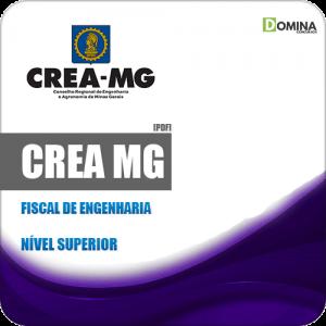 Apostila Concurso Público CREA MG 2019 Fiscal de Engenharia