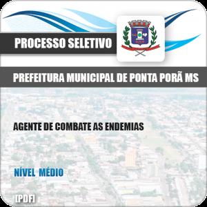 Apostila Pref Ponta Porã MS 2019 Agente de Combate as Endemias