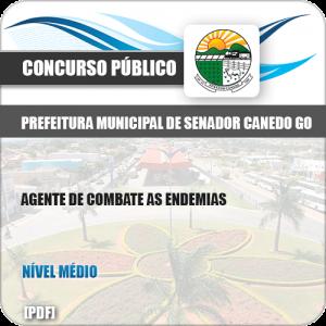 Apostila Pref Senador Canedo GO 2019 Agente Combate Endemias