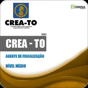 Apostila Concurso CREA TO 2019 Agente de Fiscalização