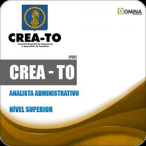 Apostila Concurso Público CREA TO 2019 Analista Administrativo