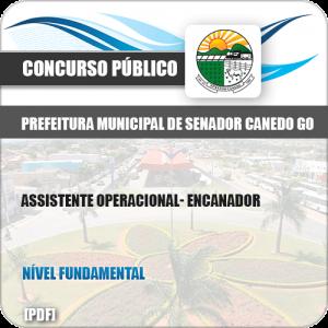 Apostila Concurso Pref Senador Canedo GO 2019 Encanador