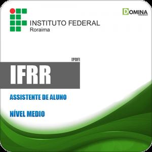 Apostila Concurso Público IFRR 2019 Assistente de Aluno