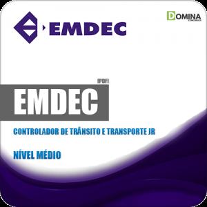 Apostila EMDEC SP 2019 Controlador de Trânsito e Transporte Jr