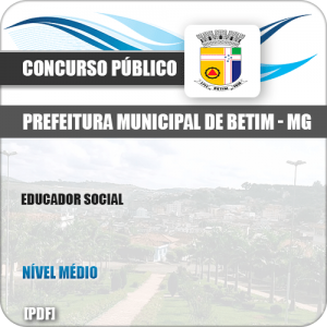 Apostila Concurso Público ISS Betim MG 2019 Educador Social