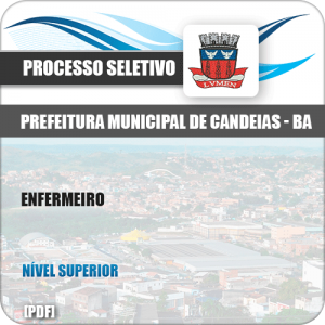 Apostila Concurso Público Pref Candeias BA 2019 Enfermeiro