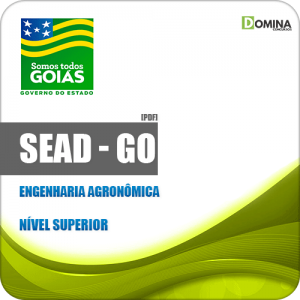 Apostila Concurso Público SEAD GO 2019 Engenharia Agronômica