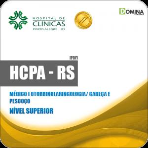 Apostila HCPA RS 2019 Médico Clínico Otorrinolaringologia