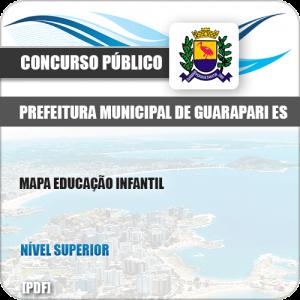 Apostila Pref de Guarapari ES 2019 MAPA Educação Infantil