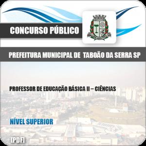Apostila Pref Taboão Serra SP 2019 Professor de II Ciências