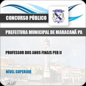 Apostila Concurso Pref Maracanã PA 2019 Professor Anos Finais