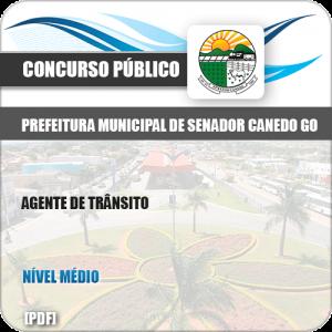 Apostila Pref Senador Canedo GO 2019 Agente de Trânsito