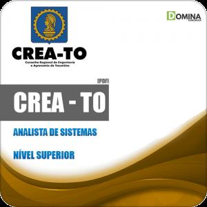 Apostila Concurso Público CREA TO 2019 Analista de Sistemas