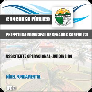 Apostila Concurso Pref Senador Canedo GO 2019 Jardineiro