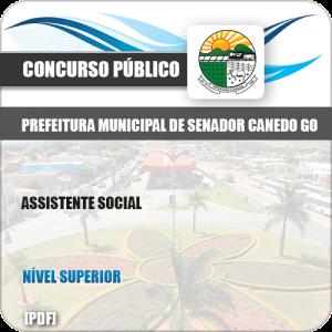 Apostila Concurso Pref Senador Canedo GO 2019 Assistente Social
